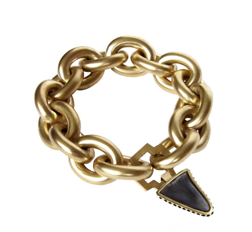 B6 & P2 bracelet charm 9in w black diamond charm.jpg