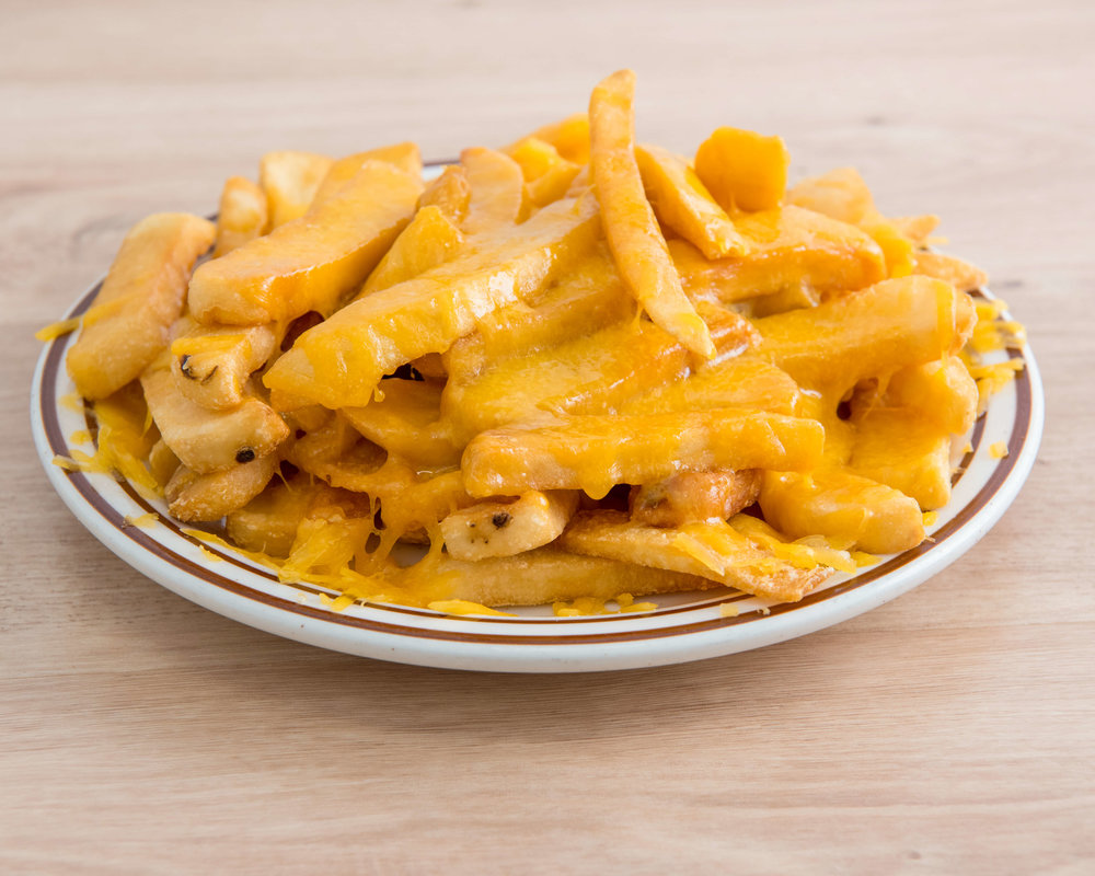 CHEESE FRIES $6.95