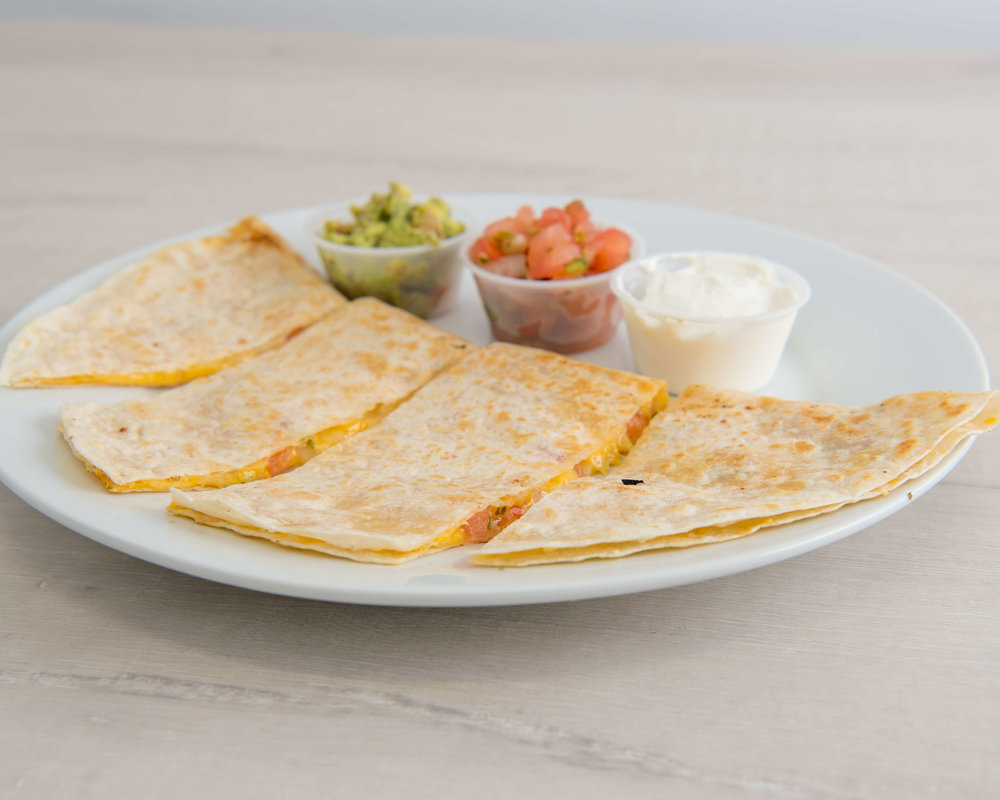 CHEESE QUESADILLA $9.95