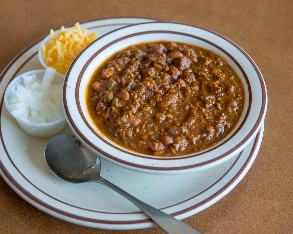 Copy of CHILI & BEANS $9.50