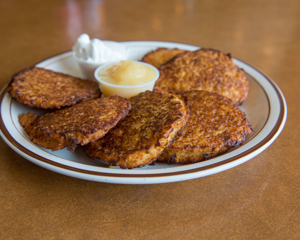 POTATO PANCAKES $8.50
