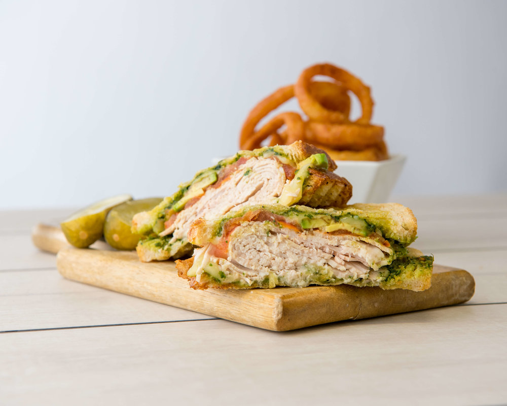 TURKEY PESTO $13.50