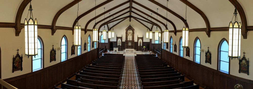 The newly-constructed St. Jude Church uses a mixture of CAMM speakers for audio reproduction.