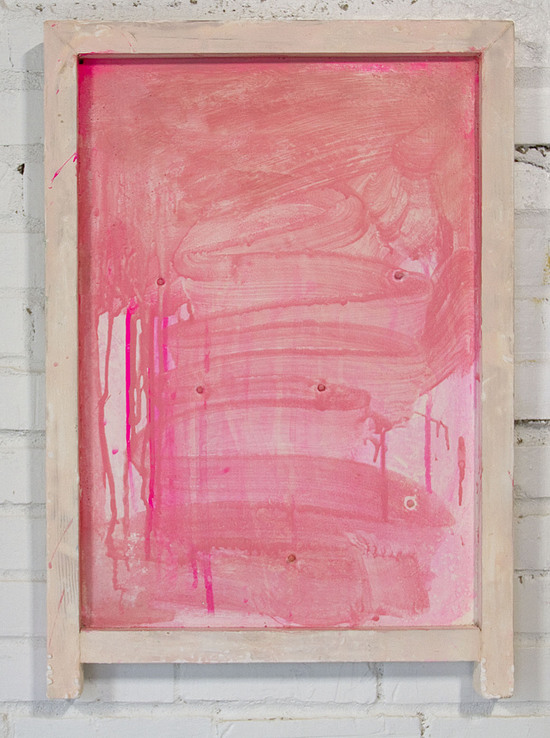 Jane Fox Hipple, Sebastian, 2012, acrylic on hydrocal and wood, 26 x 18 x 15 inches