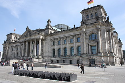 Memorial to the Murdered Members of the Reichstag. Designed by Dieter Appelt, Klaus W. Eisenlohr, Justus Müller and Christian Zwirner.