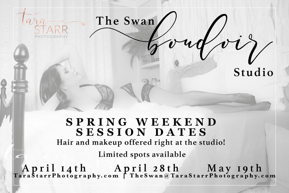 These are the ONLY Sundays we will be booking in April and May!  Don't wait!  Book your session today!