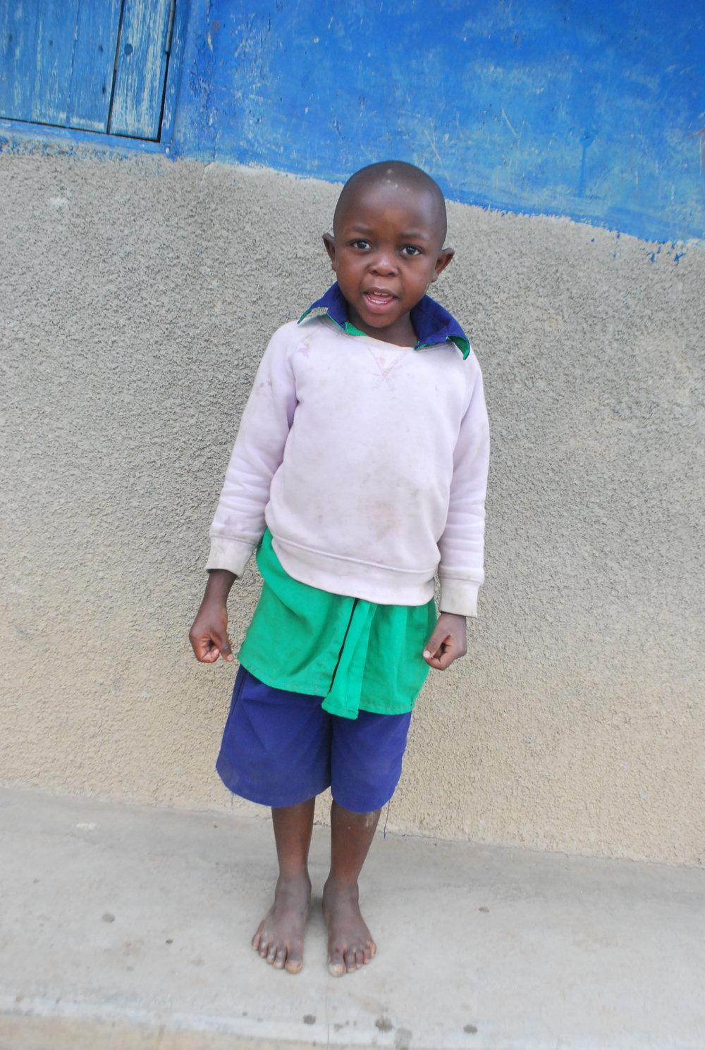 Muhindo Morgan - Mammy died of Malaria