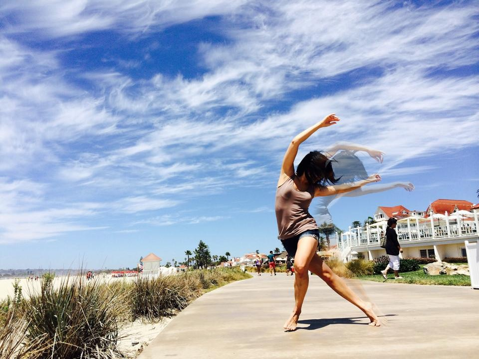 """Irene began her studies in ballet, jazz, tap, and modern dance in San Diego, CA. She continued her modern dance training at the University of California, Berkeley while also obtaining a degree in metabolic biology. During her undergraduate studies, Irene performed in works by notable San Francisco choreographers including Joe Goode of Joe Goode Performance Group, Katie Faulkner of Little Seismic Dance Company, and Lisa Wymore of Smith/Wymore Disappearing Acts. While pursuing her graduate studies in Arizona, Irene was a member of Dulce Dance Company, founded by Candy Jimenez and Liliana Gomez. After earning her Master's degree, Irene returned to California and participated in several arts festivals including San Diego Fringe and San Diego Trolley Dances, performing works by Anne Gehman and Kyle Sorensen. She was also a member of Dorn Dance Company in Los Angeles, CA, performing several modern-contemporary works by Rande Dorn including an evening-length piece titled, """"The Colored Room."""