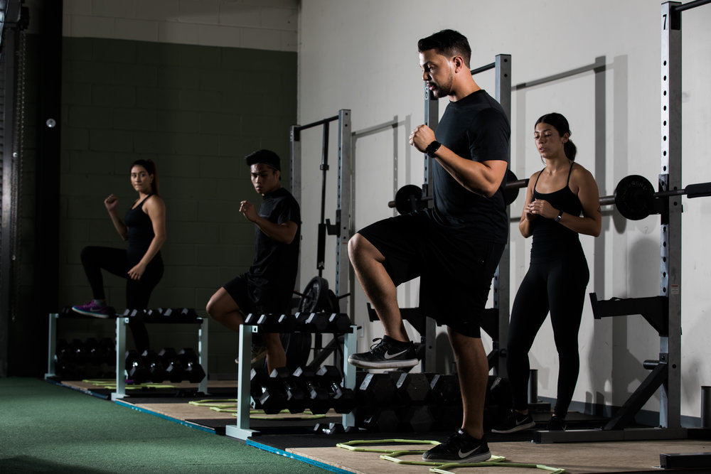PRIVATE GROUP TRAINING - 6 MONTH PROGRAM   6 Month Contractual Commitment  Features: 3 Classes per Week, Access to App Reservation, Fitmetrix Heart Rate Tracking, 1 Complimentary Personal Training Session (30 Minutes), 1 Complimentary Nutrition Coaching Session (30 Minutes)