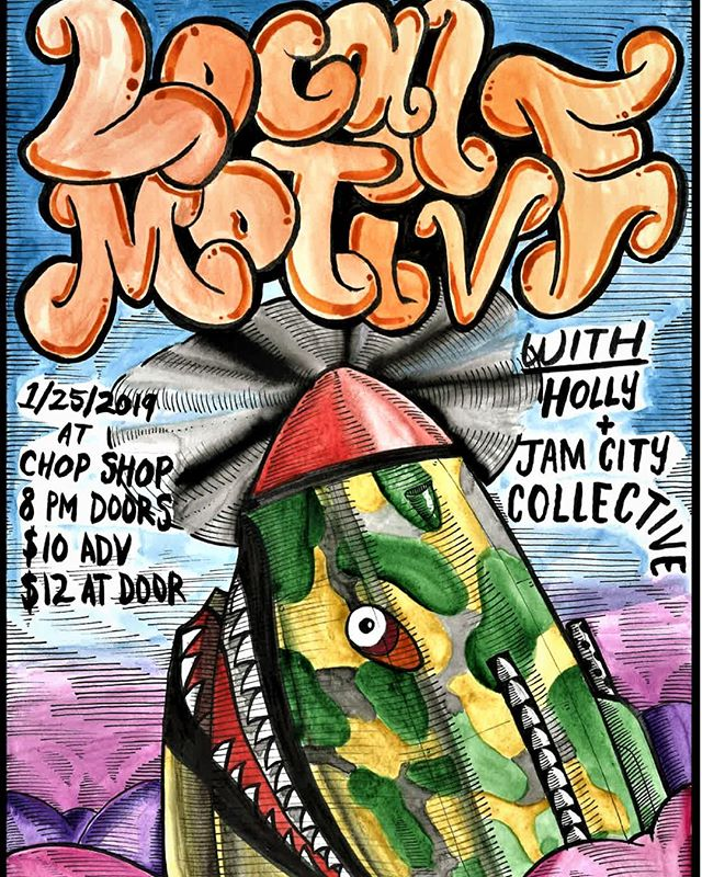 Next Friday its going down! Jam City Collective at the Chop Shop. We hit at 9, stick around for two other fantastic groups.