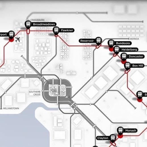 suburban rail loop -