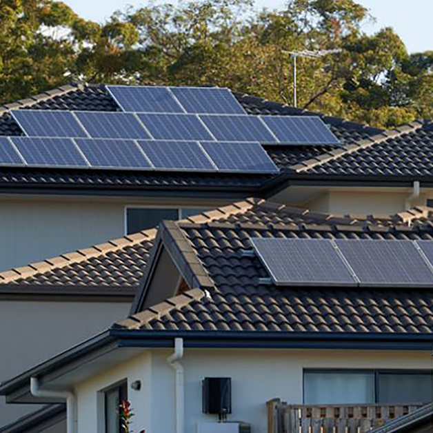 Saving with solar homes -