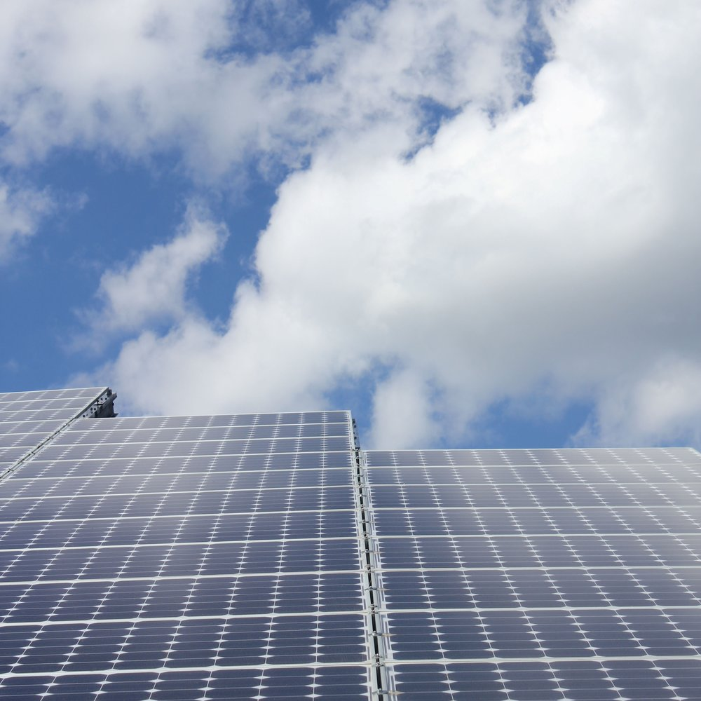 Saving with solar panels -