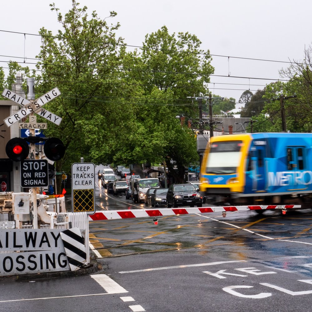 Union Rd and Mont Albert Rd Level Crossing removals -