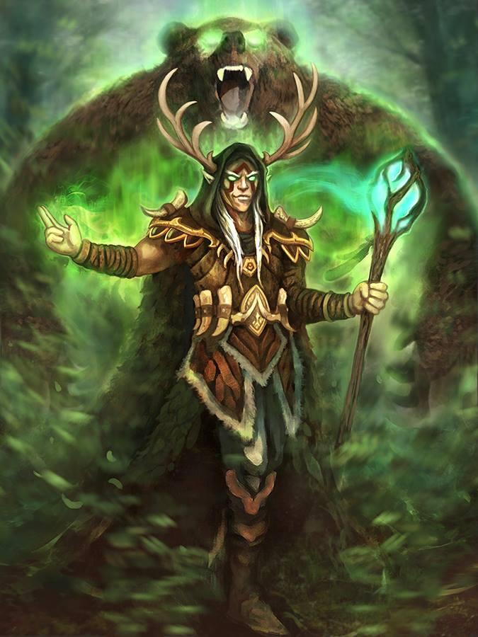 Wandering Druid