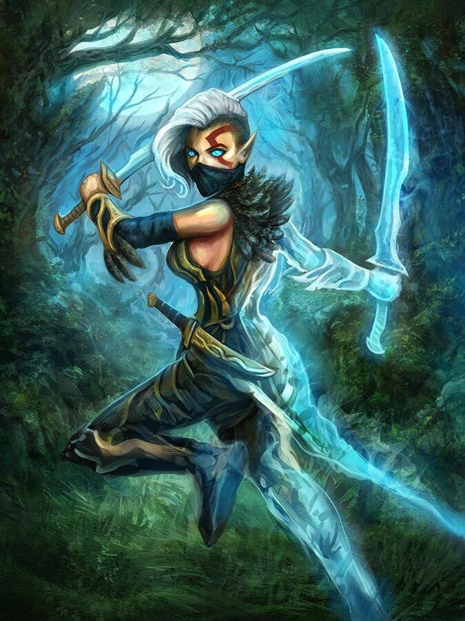 Elvish Shadow Dancer