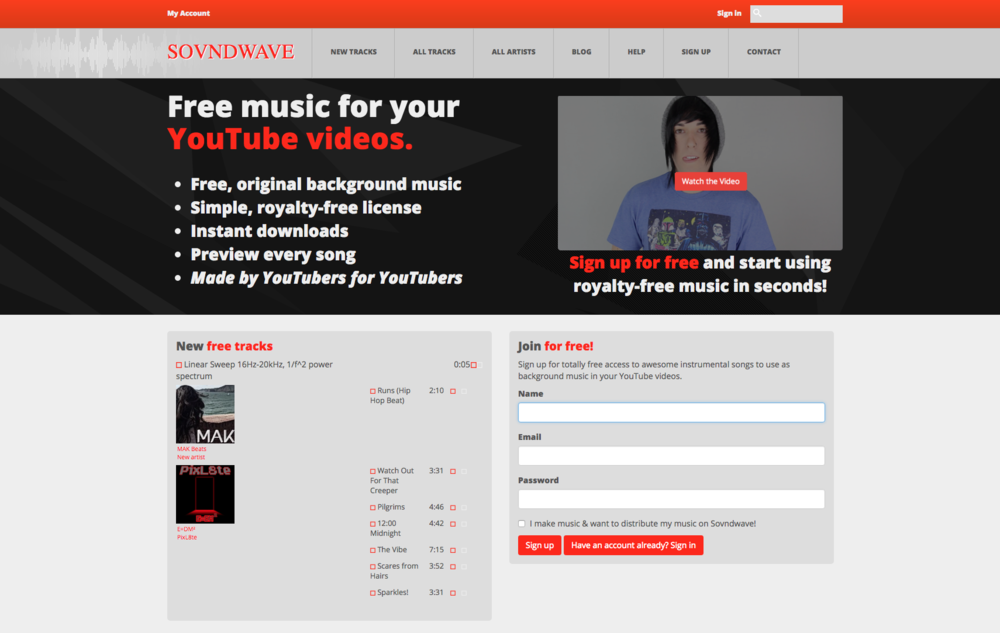 Sovndwave - Royalty Free Music