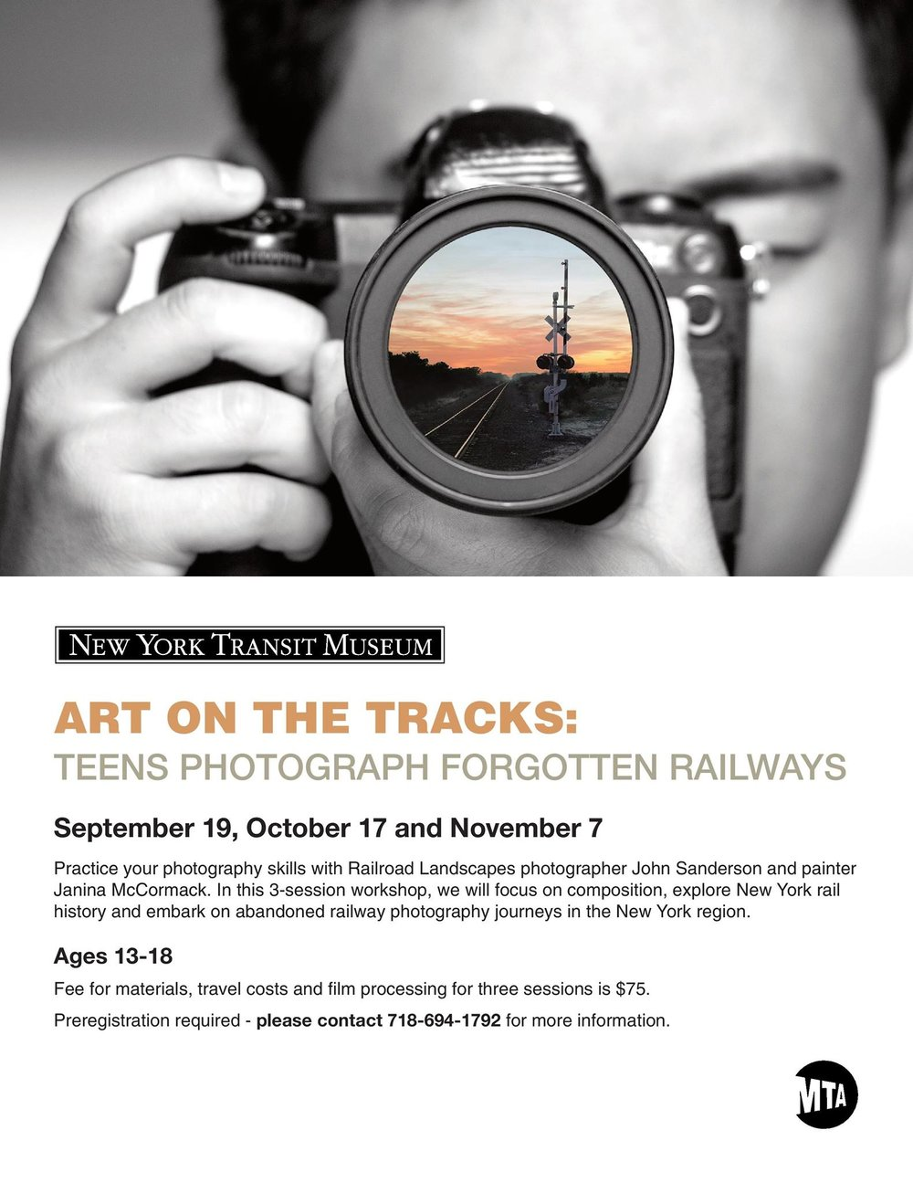 2015, 2016_Educator, Art on the Tracks, Teens Photograph the End of the Line_New York Transit Museum, Brooklyn, NY_flyer_2.jpg