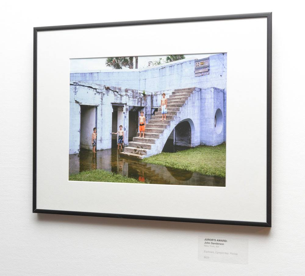 Explorers, Egmont Key, Florida  on display at PhotoPlace Gallery