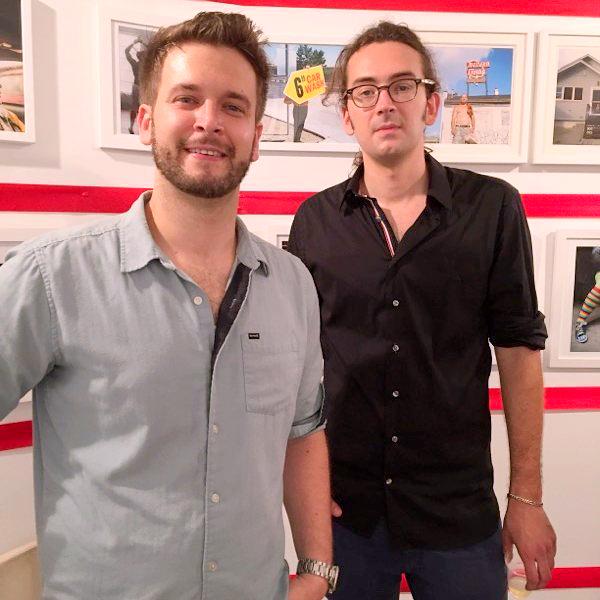Daniel Chambers and Photographer John Sanderson