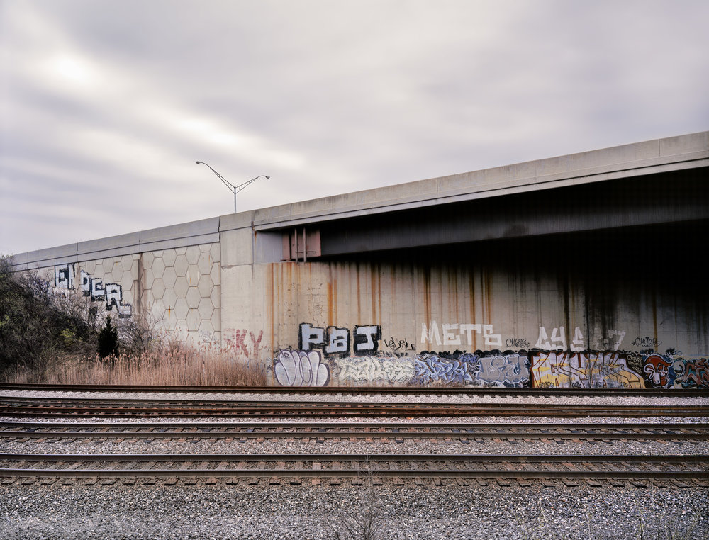 Interstate Overpass, Columbus, Ohio