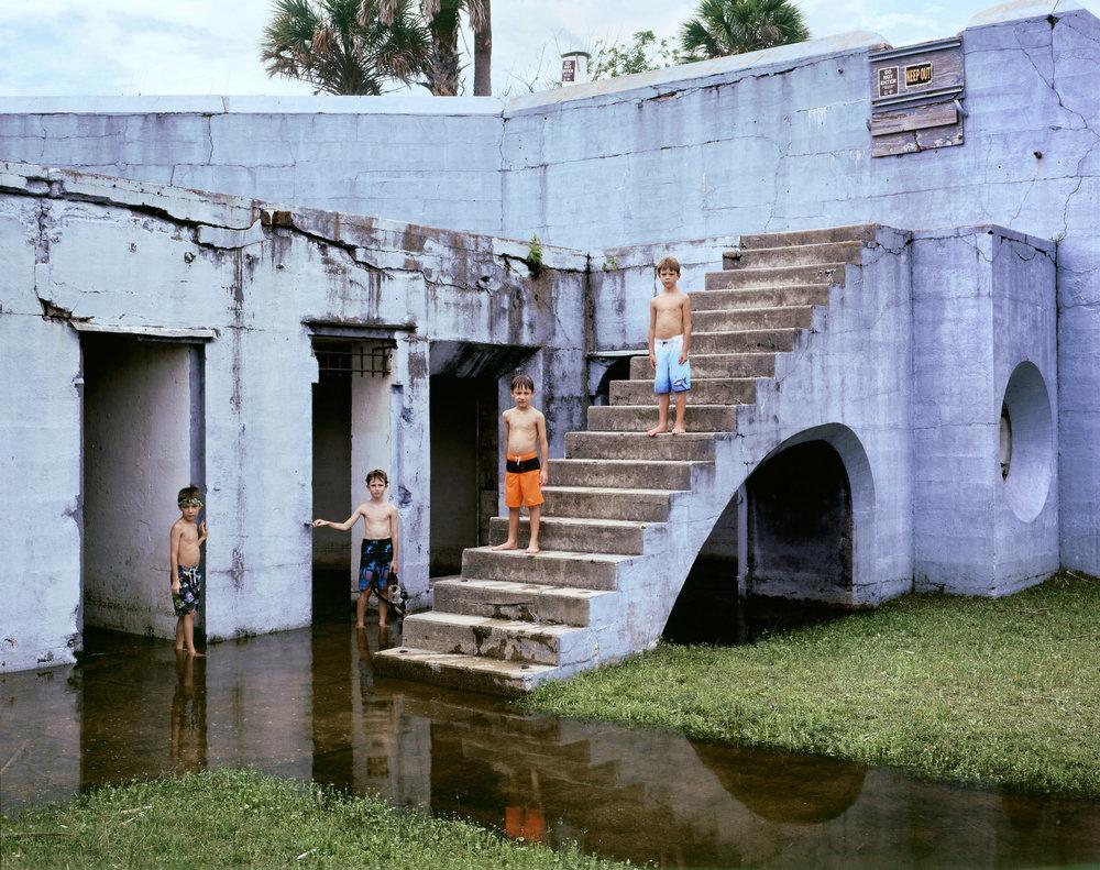 Explorers, Egmont Key, Florida