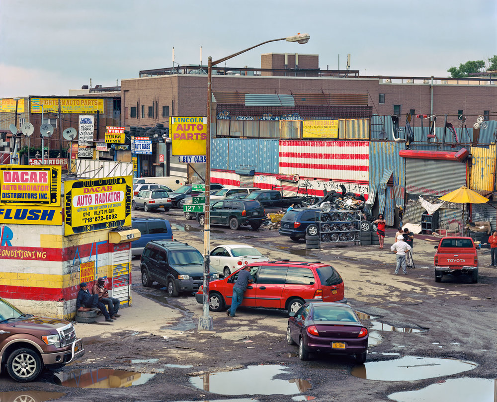 Bearded Lady, Willets Point, New York