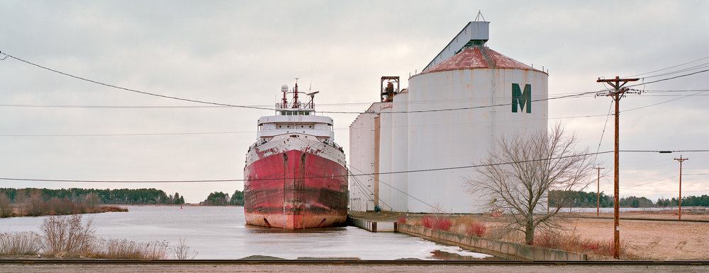 S.S. American Victory, Port of Superior, Wisconsin