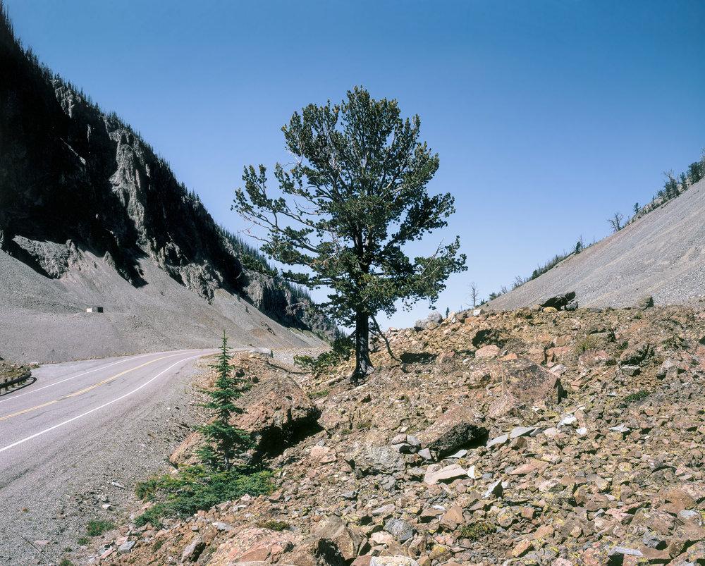 Sylvan Pass, Yellowstone Park, Wyoming