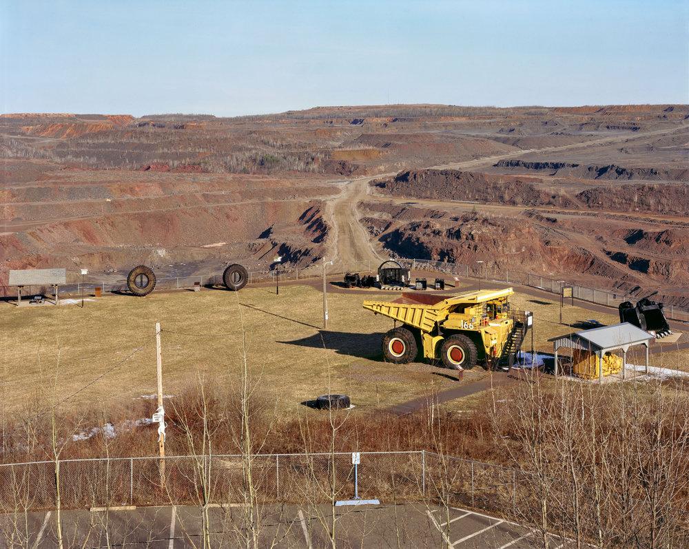 Open Pit Iron Mine, Hibbing, Minnesota