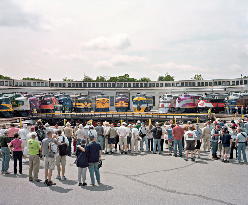 Streamliners at Spencer, North Carolina