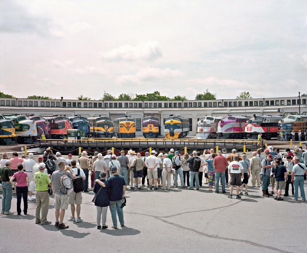 Streamliners at Spencer, North Carolina