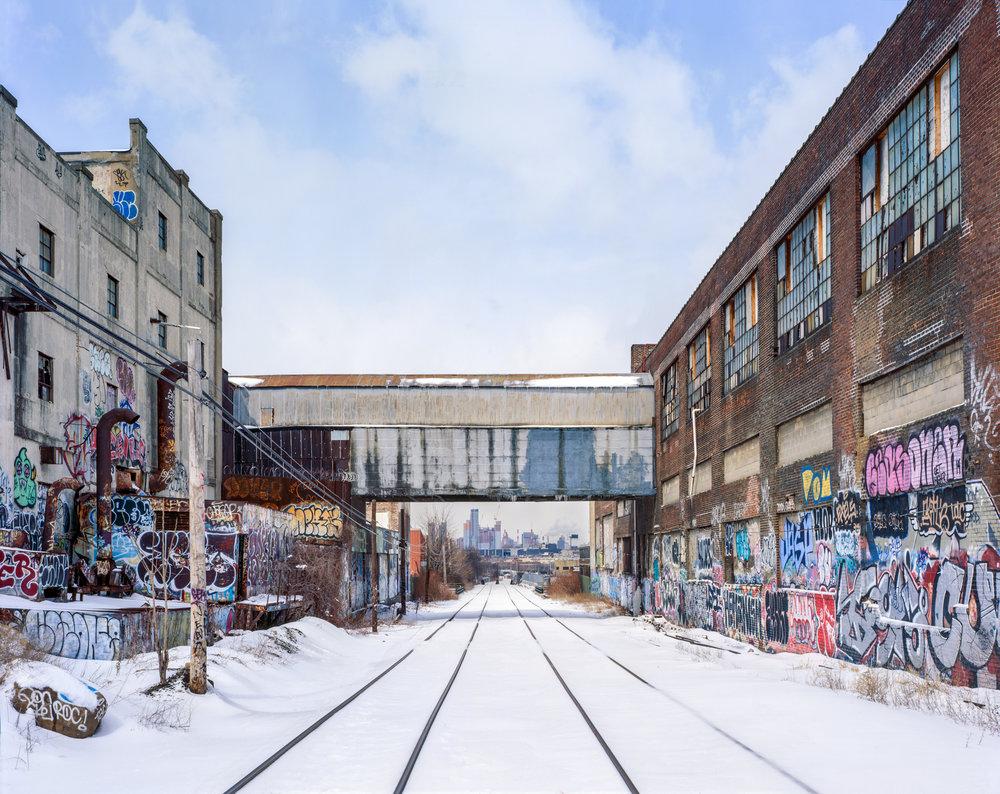 New York & Atlantic Grade, Maspeth, Queens