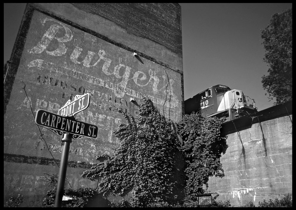 Painted Sign, Newburgh, New York