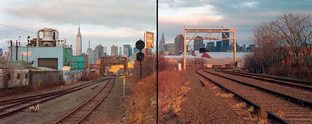 View of Manhattan, Blissville, Queens