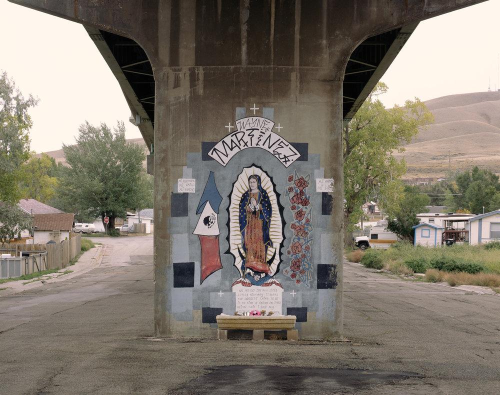 Memorial a los muertos, Rawlins, Wyoming