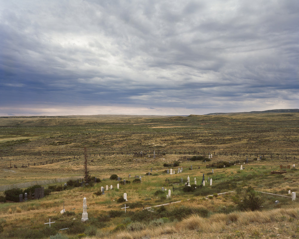 The Cemetery at Old Carbon, Wyoming