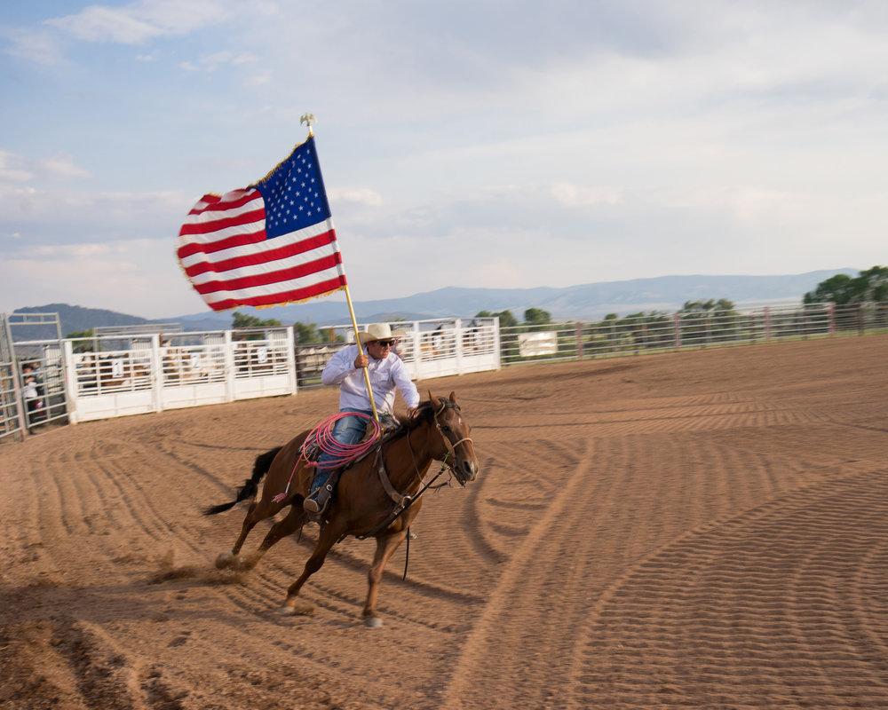 Rodeo Overture,  Brush Creek Ranch, Wyoming