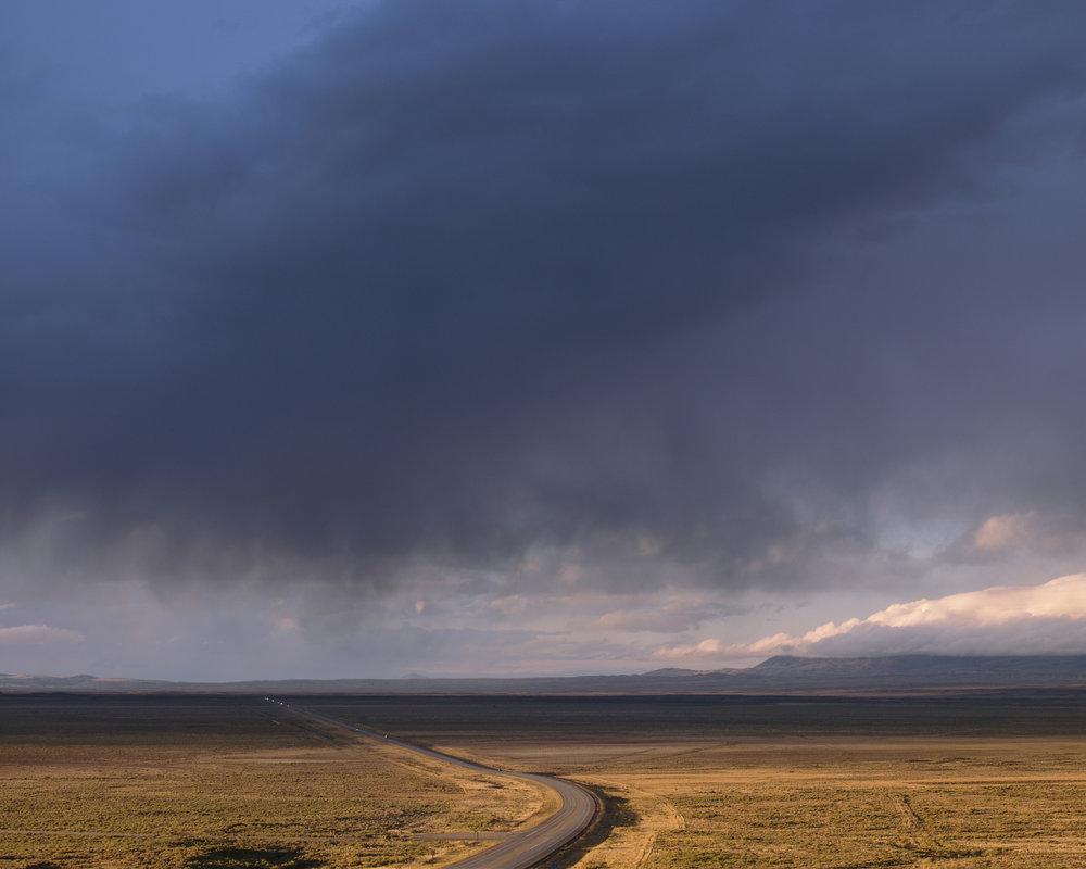 The Road to Muddy Gap, North of Rawlins, Wyoming