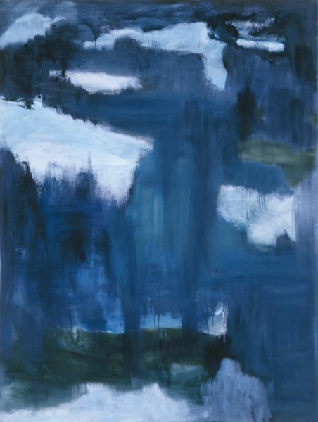 Letters from Iceland : July 15 oil on linen 64 x 48in IS-12 photo: M. Lee Fatherree
