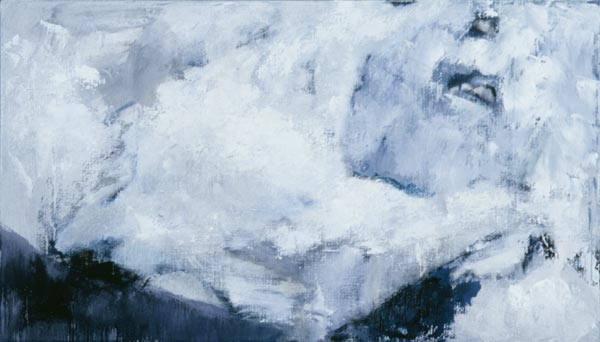 Letters from Iceland : untitled oil on linen 24 x 42in IS-06 photo: M. Lee Fatherree