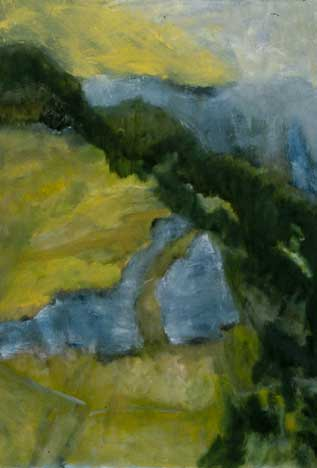 Naturblick : Nr. 1 oil on canvas 42 x 30in NB-01 photo: M. Lee Fatherree [not available]