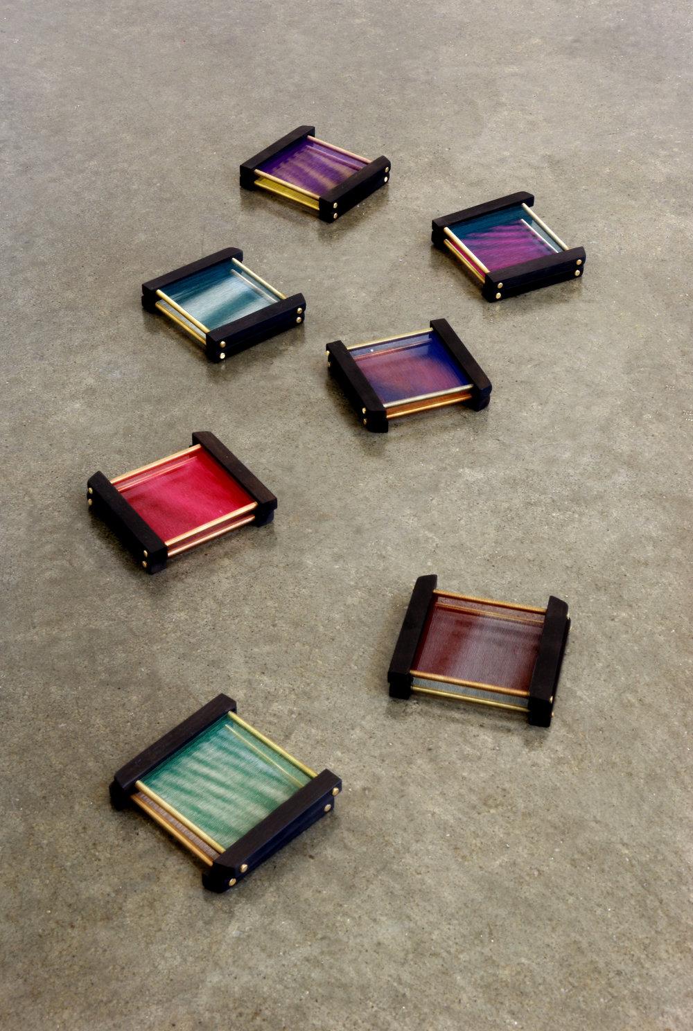 inside (silk thread), 2012