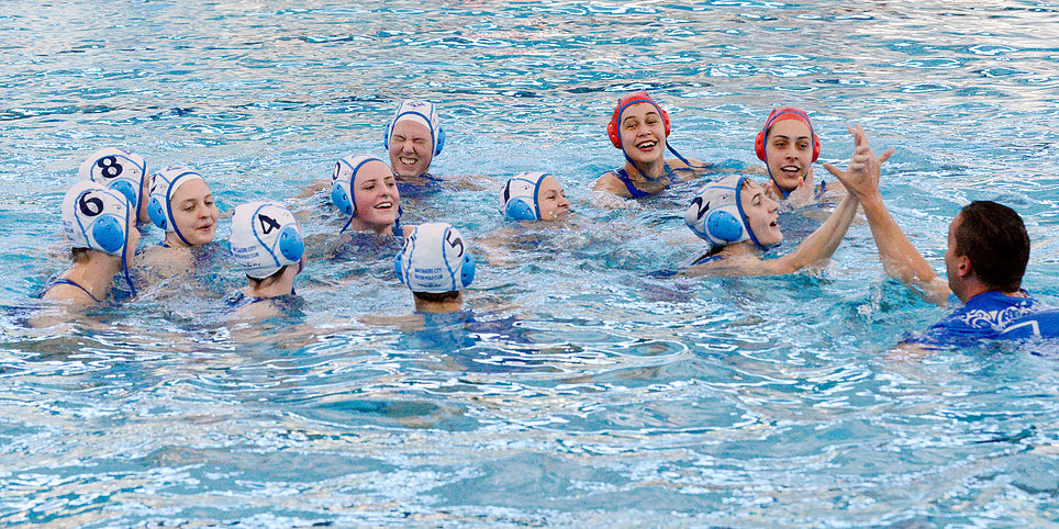 Waitakere Water Polo Blue Diamonds