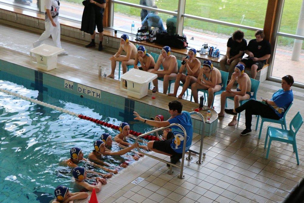 U16 Gold boys at Pan Pacs