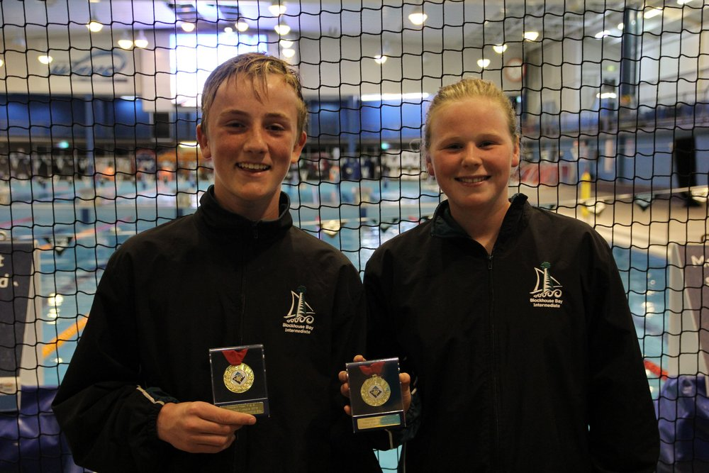 William Shaw and Charlotte Smith from BBI, Most Promising Players in Division 2