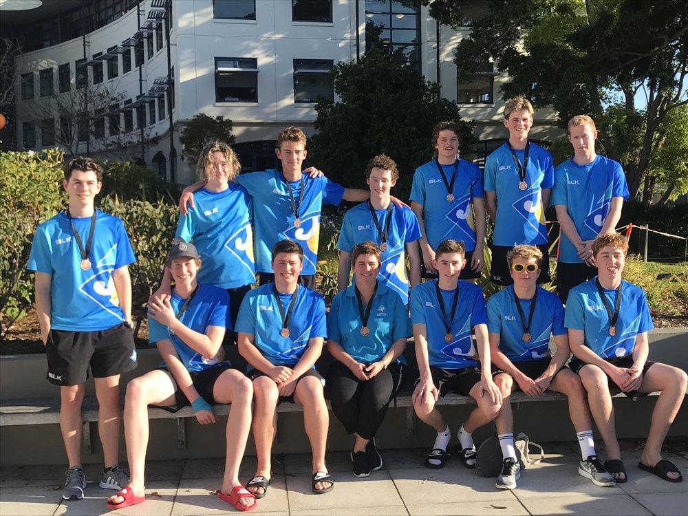 Waitakere Water Polo Under 16 Gold Boys