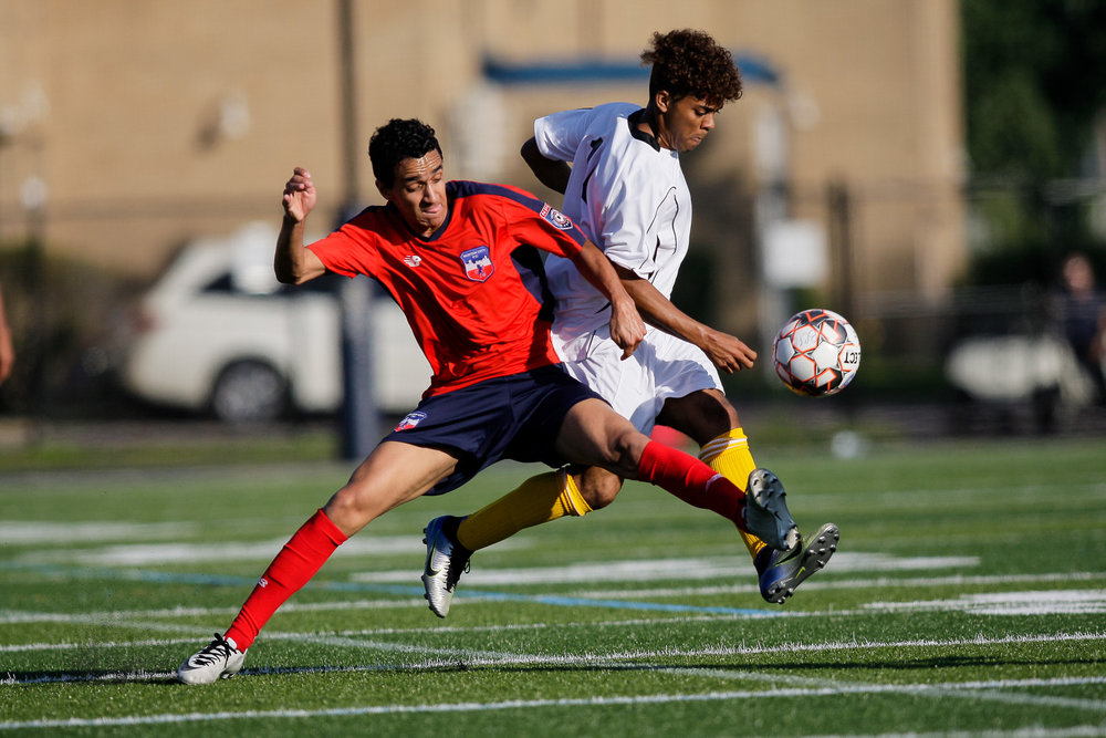 OnJuly 8, Boston City FC and Greater Lowell FC clashed in an NPSL battle with only pride on the line. (c) Burt Granofsky