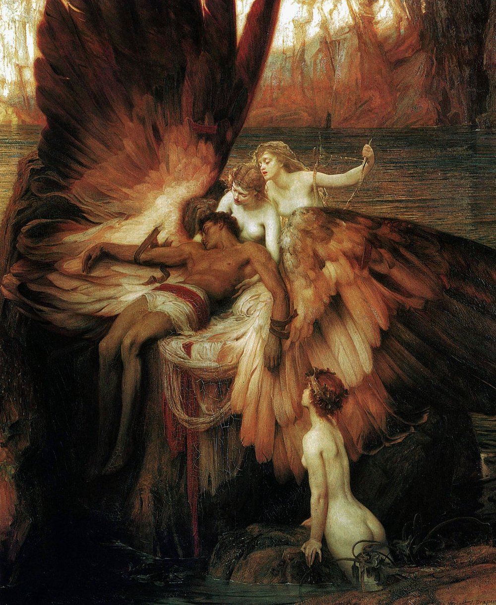 The Lament for Icarus by H. J. Draper