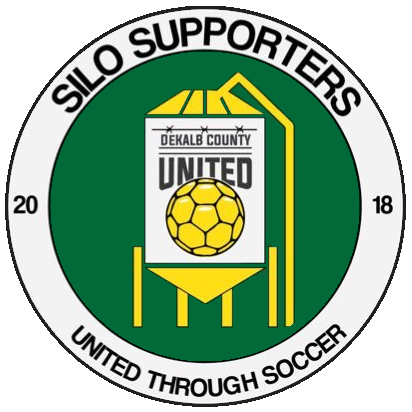 Silo Supporters have their own badge, incorporating elements of the club's badge—DeKalb County seem to be set up for the long-haul, and with great support, we hope they stick around for years to come.